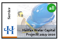 thumbnail image of Halifax Water Capital Projects map