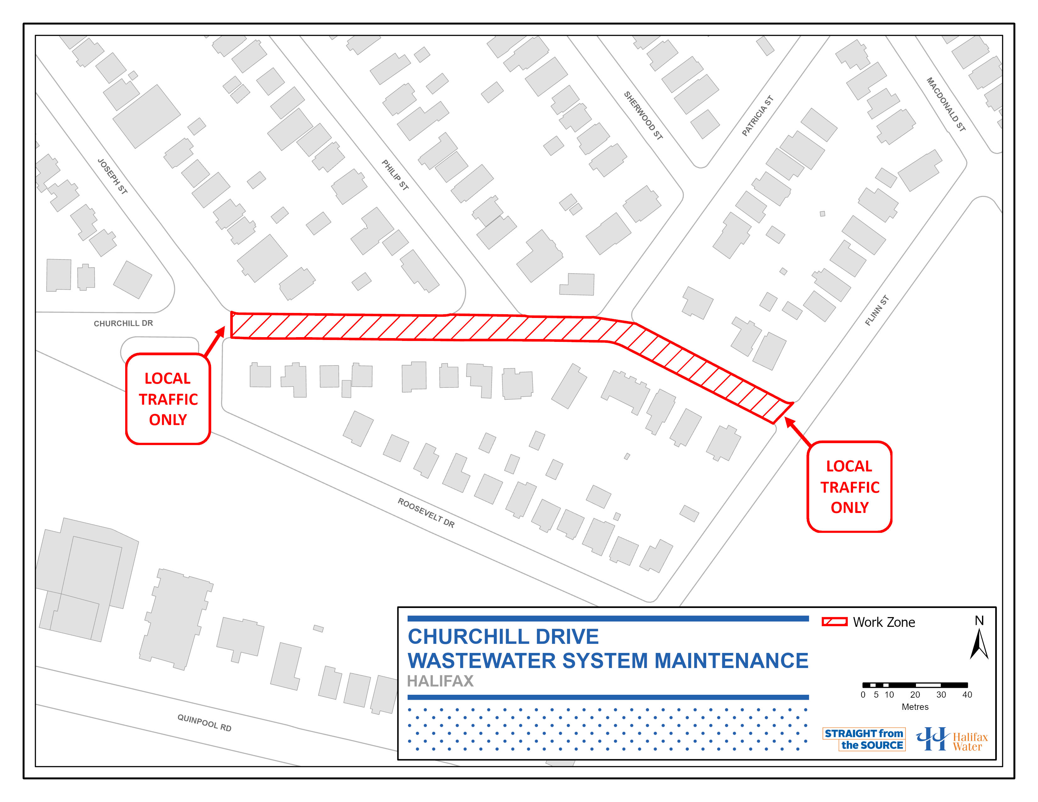 PSA Map - Churchill Drive – Wastewater System Maintenance