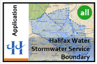 Thumbnail image of the stormwater boundary map