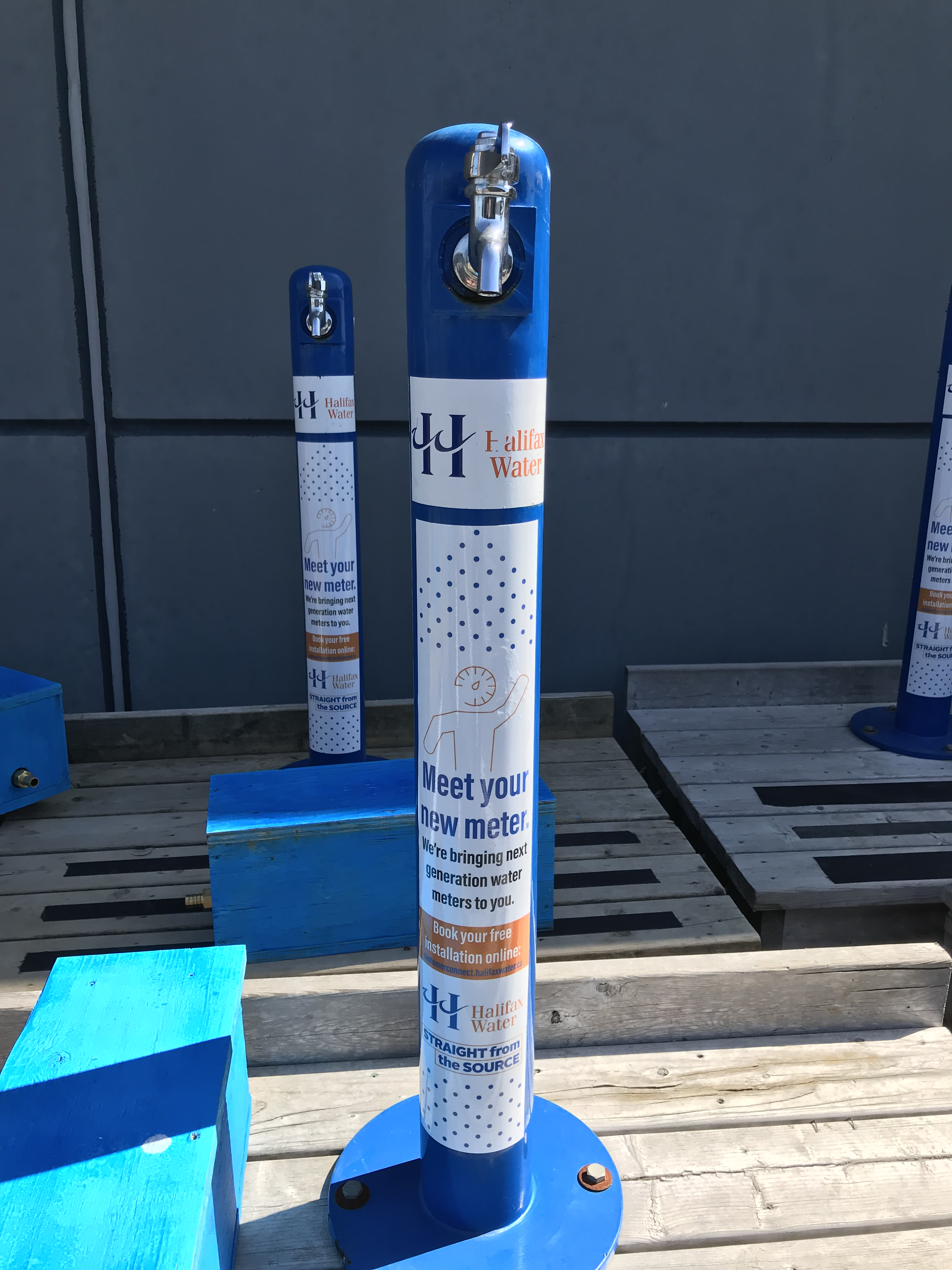 Portable Halifax Water Tap for use during community events