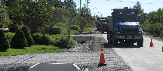 Halifax Water crews reparing stormwater infrastructure